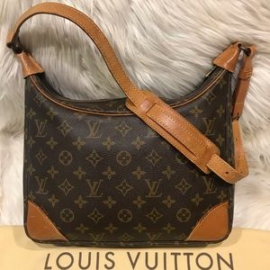 Authentic Louis Vuitton Boulogne 30 #